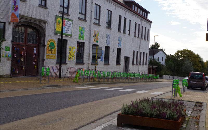 Sint-Maria-Latem: schoolomgeving
